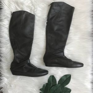 Diego Di Lucca Brown Knee High Boots